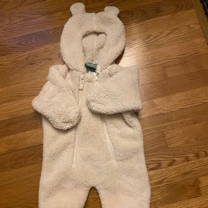 Ll Bean infant fleece suit